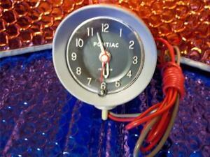 1963 Pontiac Tempest Top of Dash Clock NOS