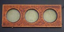 Cadre ancien en ronce de noyer pour miniature old frame XIX