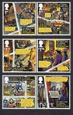 2016 GREAT FIRE OF LONDON Stamp Set of Six Mint 3879 - 3884