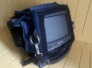 "Sony PVM-9020 portable 9"" Trinitron video monitor in Portabrace case"