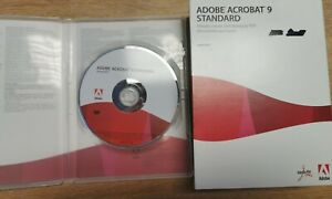 Adobe Acrobat 9 standard genuine original DVD-ROM with serial for Windows
