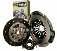 LUK 3 PART CLUTCH KIT FOR FIAT DOBLO MPV 1.2
