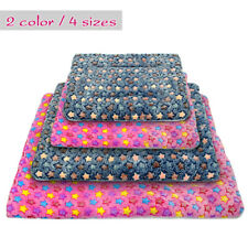 Washable Pet Bed Soft Plush Mattress Warm Sleep Cushion Mat for Small Large Dogs