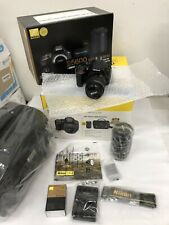 NEW Nikon D5600 DSLR Camera with 18-55mm VR Lens + 70-300mm Lens Bundle Kit