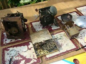 Vintage  Antique  Movement For  Longcase Clock For Restoration Spare / Repair