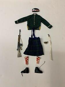 Vintage Actionman 1970 Royal Scots Guards Outfit