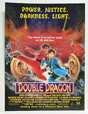 Double Dragon 1994 vintage movie Print Ad