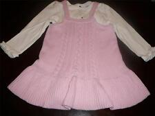 NWT GYMBOREE GIRL TRES FABULOUS POODLE TOP SWEATER JUMPER PINK DRESS SIZE 18 24