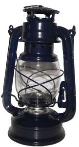 Sturmlaterne Petroleumlampe Stalllaterne BLAU Retro Sturmlampe Laterne  95020370