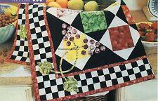 Market Basket Quilt Pattern Pieced/Applique AW