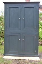 Handmade Kitchen Larder/ Housekeepers Cupboard Farrow & Ball Studio Green