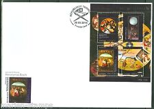 TOGO  2014  GREAT  PAINTERS HIERONYMUS BOSCH SHEET FDC