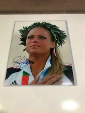 Jennie Finch Autograph Signed 8x10 Photo  USA Gold Medalist