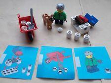 Lego City escena de Navidad Chicos Navidad Invierno Nieve Funday & Perro, nieve Catapulta