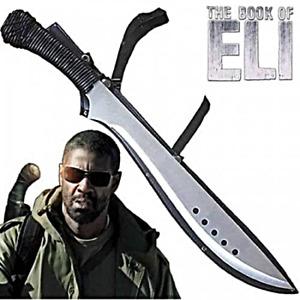 "24"" Book of Eli Bushcraft & Camping Machete with Custom Blade Material Variation"