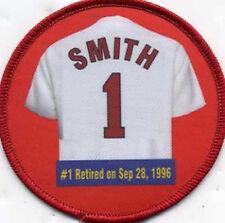 Ozzie Smith St. Louis Cardinals Retirement Number patch