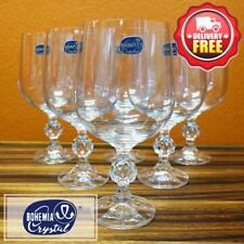 Bohemia Crystal (176.010) Claudia Red Wine Big Glass Goblet 455ml 6pcs