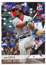 Jose Abreu White Sox All-Star Game ASG 2018 Topps Now AS-11 Platinum GOLD Stamp