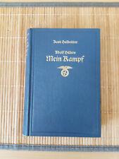 KURT HALBRITTER Adolf Hitlers MEIN KAMPF Bärmeier & Nickel 1968 Erstausgabe