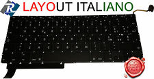 "TASTIERA Italiana per Apple Macbook Pro 15"" A1286 2009 2010 2011 2012"