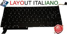 "TASTIERA Italiana per Apple Macbook Pro 15"" A1286 2009 2010 2011 2012"