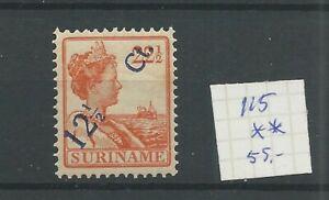 Suriname 115  Hulpuitgifte  MNH/postfris CV 55 €