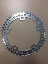 NEW 44T BCD:130 Chainring Chain Ring Track Fixie Road Single Speed Bike silver