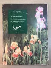Simpson Sears Catalogue 1948 Halifax Canada Spring Summer Colour Graphic Design