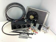 A/C KIT UNIVERSAL UNDERDASH EVAPORATOR COMPRESSOR AIR CONDITIONER HEAT COOL 404