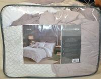 Madison Park Madeline Reversible Queen Comforter Set in Purple MPE10-792 - $150