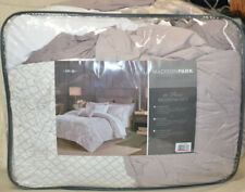 Madison Park Madeline Reversible Queen Comforter Set in Purple MPE10-792 - $150