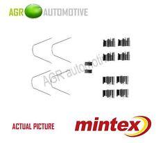 MINTEX FRONT BRAKE PADS ACCESORY KIT SHIMS GENUINE OE QUALITY - MBA1651