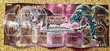 Saga of Blue Eyes White Dragon Deluxe Yugioh Paper Foldable Game Mat Good Deal