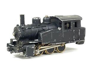 Vintage HO 0-6-0 Die-cast / Brass Tank Switcher Steam Locomotive PAINTED READ