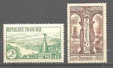 France 1935 Yvert n° 301 et 302 neuf ** 1er choix