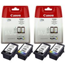 2x Canon PG545 Black & CL546 Colour Ink Cartridges For PIXMA TS205 Printer