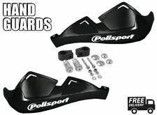 Motorcycle Black Handguards Polisport fits Cagiva 125 Enduro 81-82