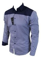 Dominic Stefano (263) Chequered Smart Casual Men's Shirt (Small-XXXL) RRP £29.99