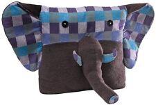 Gund Purple Pillow Pal - Shabby-chic style Elephant pillow (NWT)