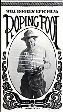 Roping Fool~Will Rogers~BRAND NEW VHS~Fast 1st Class Mail