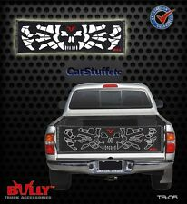 Bully Skull & Bones Tailgate Tail gate Net Mid Sized Pickup Zombie Pirate TR-05