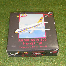 HERPA WINGS 1:500 SCALE AREOPLANE 500913 AIRBUS A310-300 HAPAG LLOYD