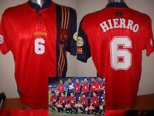 España España Camiseta Jersey Hierro XL Euro 96 Adidas Fútbol Real Madrid
