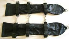 GENUINE LAMBS LEATHER BONDAGE OPERA GLOVES Large