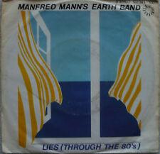 """7"""" MANFRED MANN´S EARTH BAND  Lies All Through The 80´s"""