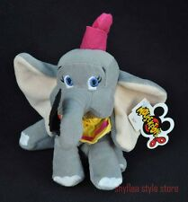 Dumbo Disney Mini Bean Bag Toy Plush Tags Baby Elephant Mouseketoys Leaf NEW