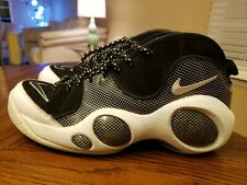 913e64c9a5a6 NIKE AIR ZOOM FLIGHT 95 SE JASON KIDD shoes mens sz 10.5 black white USED  RARE