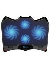 Pad Laptop Cooler Chill Mat Fans USB Powered Adjust Mount Stand LED Light 1