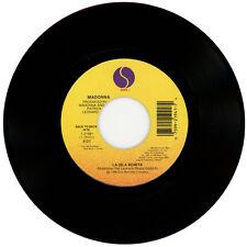 """MADONNA : La Isla Bonita / Open Your Heart - 7"""" USA 1989 - Back To Back Hits"""