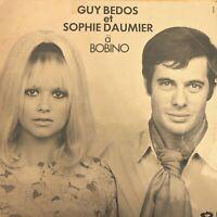 Vinyle-LP-33T + PROGRAMME -GUY BEDOS - SOPHIE DAUMIER : à Bobino RARE